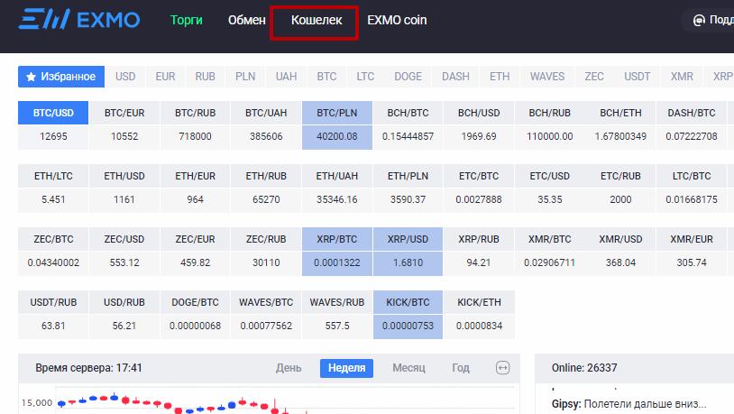 Ищем правильную тропинку или как вывести биткоины с EXMO на кошелек