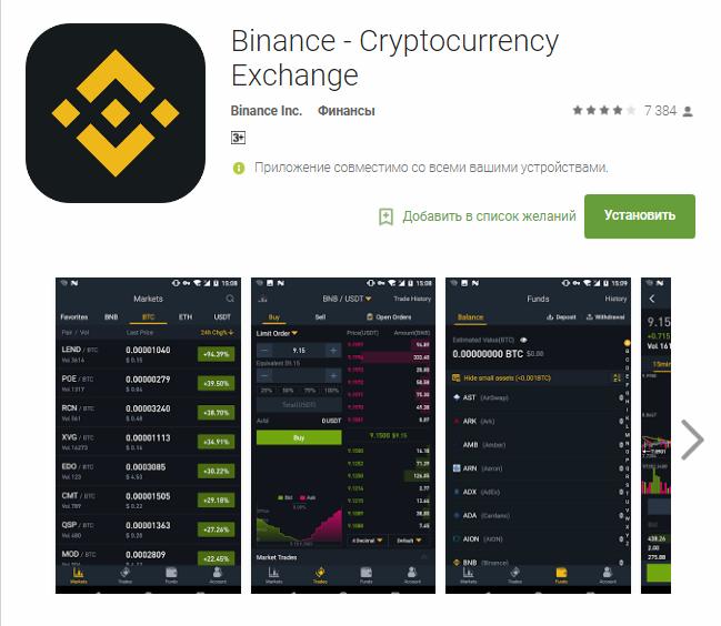 У биржи криптовалют Binance зашкаливает инновационность