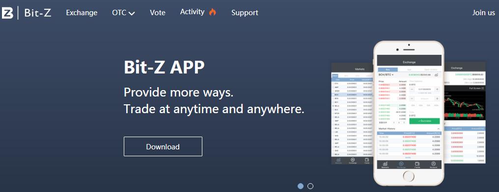 Биржа криптовалют Bit-Z – самая «дорогая» площадка?