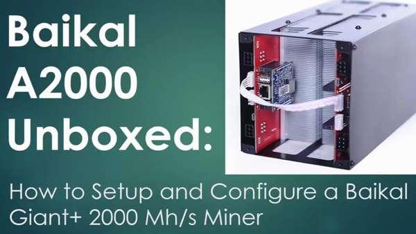 Baikal Giant A2000: характеристики, цена, окупаемость