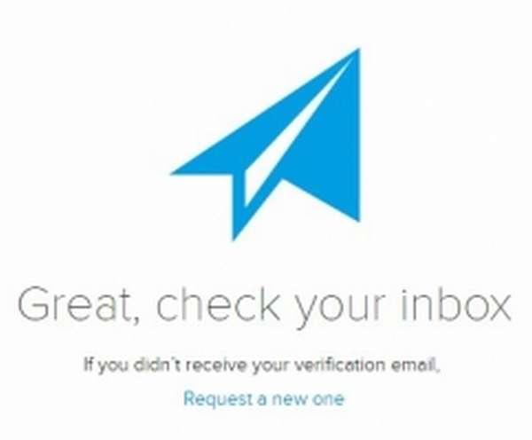 Подтверждение почты в Cryptopay