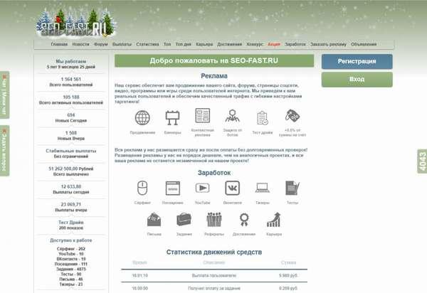 Сайты похожие на Сеоспринт