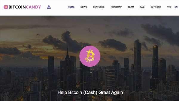 Bitcoin Candy Logo