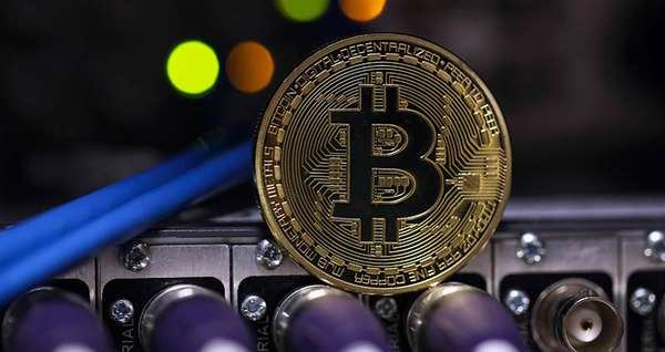 Монета Bitcoin