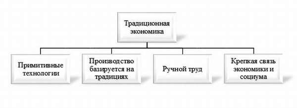 особенности традиционной экономики