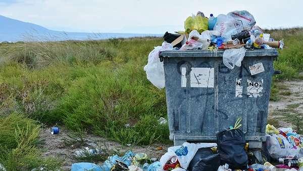 Фотография мусора