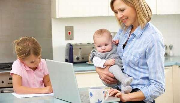 работа для мам в декрете спб