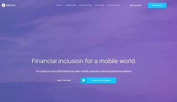 Официальный сайт Telcoin