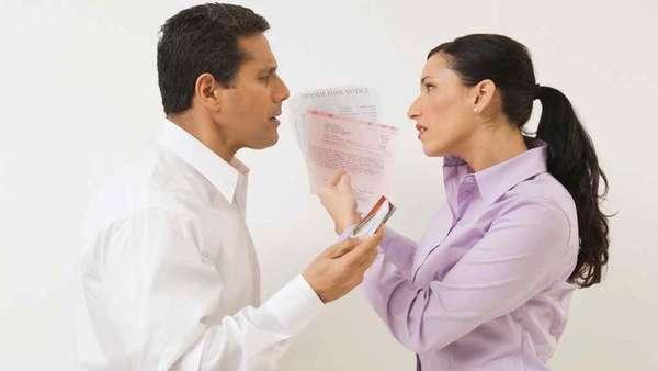 при разводе как делится кредит жены