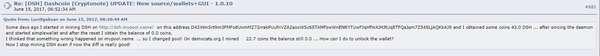 Сообщение с bitcointalk.org