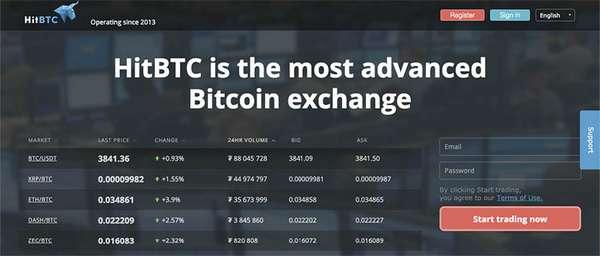 Биржа криптовалют HitBTC