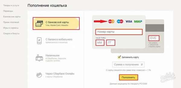 Корректно и внимательно заполните предложенную форму, введя следующие данные: номер пластика, с которого происходит отправка средств, реквизит кошелька Яндекс