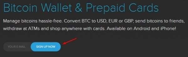 Регистрация в Cryptopay