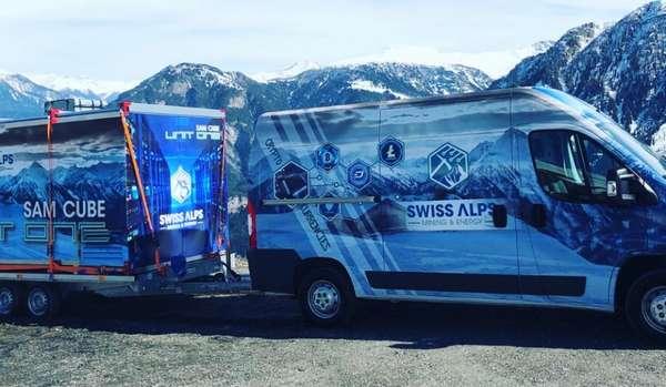 Майнинг криптовалюты в Альпах
