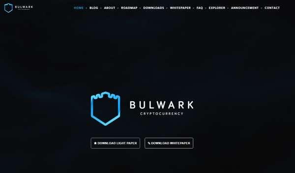 Официальный сайт Bulwarkcrypto