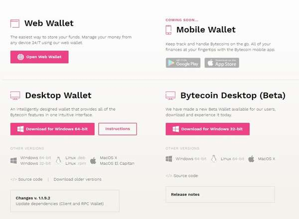Bytecoin Wallet
